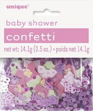 Pink Baby Shower Confetti 14.1g